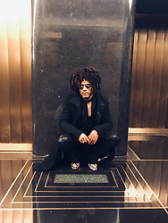"""Lenny Kravitz releases a photo on Twitter with the following caption: """"""""It's always a trip visiting NBC 30 Rock where my parents met. I used to walk through these halls as a child and these shapes on the floor are imprinted in my mind bringing back memories. Here tonight on @LateNightSeth"""""""". Photo Credit: Twitter *** No USA Distribution *** For Editorial Use Only *** Not to be Published in Books or Photo Books ***  Please note: Fees charged by the agency are for the agency's services only, and do not, nor are they intended to, convey to the user any ownership of Copyright or License in the material. The agency does not claim any ownership including but not limited to Copyright or License in the attached material. By publishing this material you expressly agree to indemnify and to hold the agency and its directors, shareholders and employees harmless from any loss, claims, damages, demands, expenses (including legal fees), or any causes of action or allegation against the agency arising out of or connected in any way with publication of the material."""
