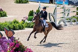 GOODIN Bruce (NZL), Backatorps Danny V<br /> Tryon - FEI World Equestrian Games™ 2018<br /> 2. Qualifikation Teamwertung 1. Runde<br /> 20. September 2018<br /> © www.sportfotos-lafrentz.de/Stefan Lafrentz