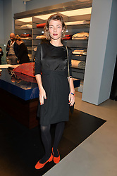 CAMILLA RUTHERFORD at the launch of the new Frette store at 43 South Audley Street, London on 6th October 2016.