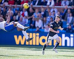 Falkirk's Bob McHugh. Kilmarnock 4 v 0 Falkirk, second leg of the Scottish Premiership play-off final.