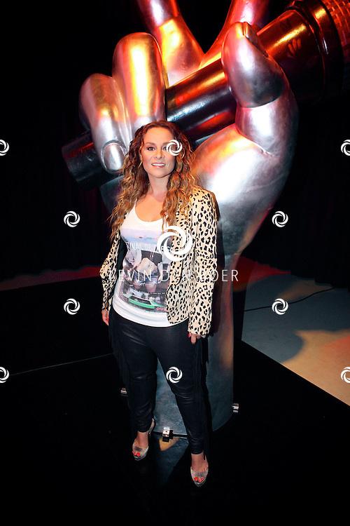 HILVERSUM - De perspresentatie van The Voice of Holland seizoen 2012/13.  Met op de foto jurylid Trijntje Oosterhuis. FOTO LEVIN DEN BOER - PERSFOTO.NU