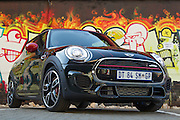 The Mini John Cooper Works 2015. Image by Greg Beadle Commercial photography commissioned to Beadle Photo by international brands