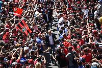 Arrivee Equipe Toulon - Bernard Laporte - 09.05.2015 - Toulon / Castres - 24eme journee de Top 14 <br /> Photo : Alexandre Dimou / Icon Sport