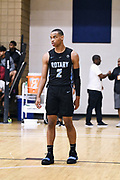 NORTH AUGUSTA, SC. July 10, 2019. Nolan Hickman 2021 #2 of Seattle Rotary 17U at Nike Peach Jam in North Augusta, SC. <br /> NOTE TO USER: Mandatory Copyright Notice: Photo by Alex Woodhouse / Jon Lopez Creative / Nike