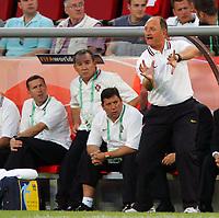 Koln 11/6/2006 World Cup 2006<br /> <br /> Angola Portugal - Angola Portogallo 0-1<br /> <br /> Photo Andrea Staccioli Graffitipress<br /> <br /> Portogallo trainer Luiz Felipe Scolari