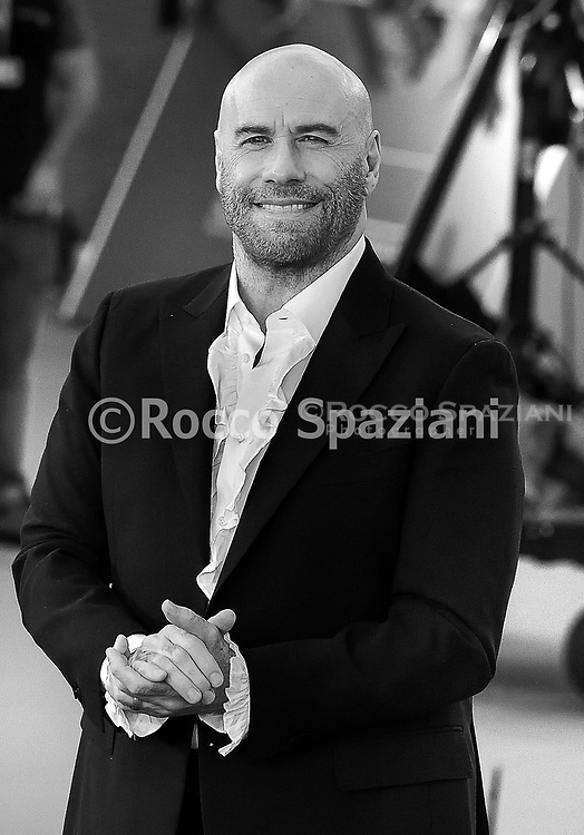 ROME, ITALY - OCTOBER 22: John Travolta attends the red carpet during the 14th Rome Film Festival on October 22, 2019 in Rome, Italy.