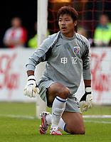 Photo: Maarten Straetemans.<br /> Shanghai Shenhua v Liverpool. Rotterdam Tournament. 03/08/2007.<br /> Chen Zhang (Shanghai)
