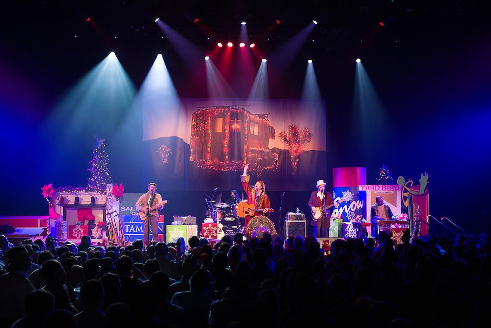 AUSTIN, TX - DECEMBER 20: Robert Earl Keen and the Robert Earl Keen Band in concert at the Moody Theater in Austin, Texas on December 20, 2013. Photograph © 2013 Darren Carroll