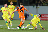 Benjamin JEANNOT / Jordan VERETOUT / Alejandro BEDOYA - 20.12.2014 - Lorient / Nantes - 17eme journee de Ligue 1 -<br />Photo : Vincent Michel / Icon Sport