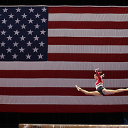 Maggie Nichols, Little Canada, Minnesota, in action on the Balance Beam during the Senior Women Competition at The 2013 P&G Gymnastics Championships, USA Gymnastics' National Championships at the XL, Centre, Hartford, Connecticut, USA. 15th August 2013. Photo Tim Clayton