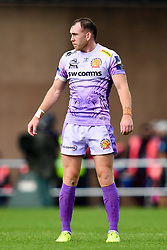 Max Bodilly of Exeter Chiefs - Mandatory by-line: Ryan Hiscott/JMP - 21/09/2019 - RUGBY - Sandy Park - Exeter, England - Exeter Chiefs v Bath Rugby - Premiership Rugby Cup