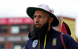 South Africa's Hashim Amla during the nets session at Emirates Old Trafford, Manchester.