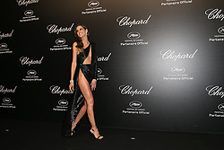 May 18, 2019 - Cannes, France - Izabel Goulart. A part from the 72th Film Festival of Cannes. Â« Love » party Chopard in Cannes. Pictures: Laurent Guerin / EliotPress Set ID: 600879....239424 2019-05-17  Cannes France. (Credit Image: © Laurent Guerin/Starface via ZUMA Press)