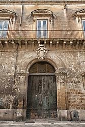 Antico palazzo sito su Corso Libertini, l' arteria principale che porta nel cuore di Lecce