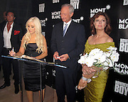 Christina Aguilera, Lutz Bethge, CEO of Montblanc International and Susan Sarandon. .Global Launch Of The Montblanc John Lennon Edition and Nowhere Boy US Movie Premiere..Hosted by Susan Sarandon with a Special Performance by Christina Aguilera.Jazz at Lincoln Center..New York, NY, USA..Sunday, September 12, 2010..Photo By iSnaper.com/ CelebrityVibe.com..To license this image please call (212) 410 5354; or Email: CelebrityVibe@gmail.com ; .website: www.CelebrityVibe.com.