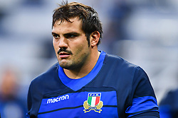 Nicola Quaglio of Italy during the pre match warm up<br /> <br /> Photographer Craig Thomas/Replay Images<br /> <br /> Quilter International - England v Italy - Friday 6th September 2019 - St James' Park - Newcastle<br /> <br /> World Copyright © Replay Images . All rights reserved. info@replayimages.co.uk - http://replayimages.co.uk