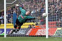 Fotball<br /> FA-cup England<br /> 3. runde<br /> 03.01.2004<br /> Foto: Digitalsport<br /> Norway Only<br /> <br /> Watford v Chelsea<br /> <br /> WATFORD KEEPER LENNY PIDGELEY - ON LOAN FROM CHELSEA - KEEPS WATFORD IN TIE WITH FINE LATE SAVE