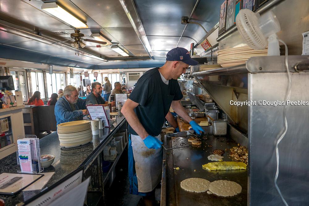 Bishops 4th Street Diner, Newport, Rhode Island, USA