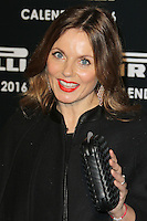 Geri Halliwell, Pirelli Calendar 2016 - Gala Dinner, The Roundhouse Camden, London UK, 30 November 2015, Photo by Brett D. Cove