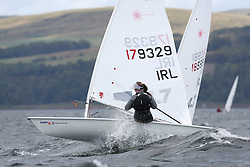 Day 4 NeilPryde Laser National Championships 2014 held at Largs Sailing Club, Scotland from the 10th-17th August.<br /> <br /> 179329, Nicole HEMERYCK<br /> <br /> Image Credit Marc Turner