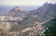 View over city of Rio de Janeiro, Brazil, South America 1962