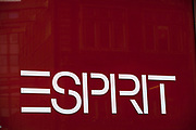 Sign for clothes shop Esprit.