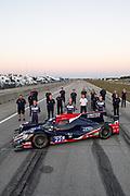March 18-20, 2021:  IMSA Weathertech Mobil 1 Sebring 12h: #22 United Autosports, ORECA LMP2, James McGuire, Wayne Boyd, Guy Smith team photo