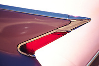 Fin and Tail Light 1958 Cadillac