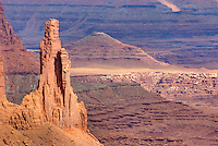 Monster Tower, Canyonlands National Park Utah USA