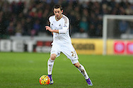 Gylfi Sigurdsson of Swansea city in action. Barclays Premier league match, Swansea city v Crystal Palace at the Liberty Stadium in Swansea, South Wales on Saturday 6th February 2016.<br /> pic by Andrew Orchard, Andrew Orchard sports photography.