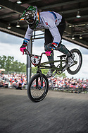 #6 (EVANS Kyle) GBR at Round 6 of the 2019 UCI BMX Supercross World Cup in Saint-Quentin-En-Yvelines, France