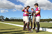 Team Rudd & Gunn celebrates after a tight finals 12 -11 in extra time. 2010 BMW New Zealand Polo Open. Auckland Polo Club, Fisher Field, Clevedon, New Zealand. Sunday 21st February 2010. Photo: Anthony Au-Yeung/PHOTOSPORT