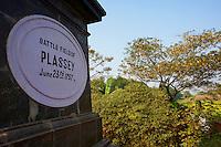 Inde, Bengale-Occidental, memorial de la bataille de Plassey considérée comme le point de départ de la domination britannique en Inde // India, West Bengal, Plassey battle field memorial, this battle was a decisive British East India Company victory