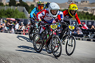 9 Boys #124 (CLIFFORD Connor) USA at the 2018 UCI BMX World Championships in Baku, Azerbaijan.