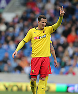 Daniel Tozser during the Sky Bet Championship match between Brighton and Hove Albion and Watford at the American Express Community Stadium, Brighton and Hove, England on 25 April 2015.