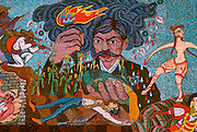 MEXICO, MEXICO CITY, MURAL Rivera's mural of Emiliano Zapata