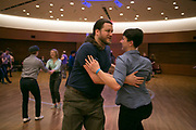 Jumptown Swing hosts the Madison Invasion swing competition event at The Wisconsin Institute of Discovery in Madison, Wisconsin on March 3, 2017. <br /> <br /> Beth Skogen Photography - www.bethskogen.com