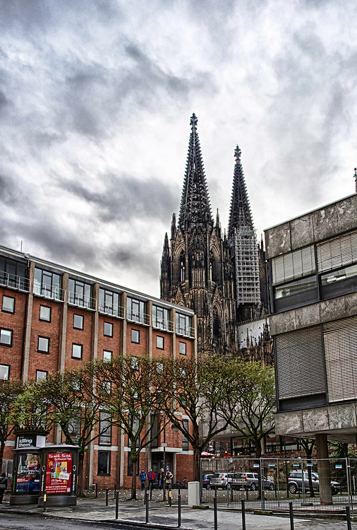The Kölner Dom.