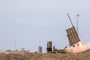 With the increase of tension in Syria, Israel has redeployed Iron Dome units to protect northern Israel from Syrian missiles. Iron Dome (Hebrew: Kipat Barzel‎) is a mobile air defense system developed by Rafael Advanced Defense Systems designed to intercept short-range rockets and artillery shells.