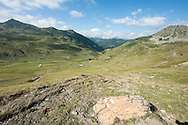 Dobërdol summer pasture on the Peaks of the Balkans trail, Albania © Rudolf Abraham