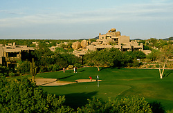 Sports: Golf: AZ, Boulders Resort and Spa in Phoenix/Scottsdale area Arizona.Photo Copyright: Lee Foster, lee@fostertravel.com, www.fostertravel.com,  (510) 549-2202.Image sports213