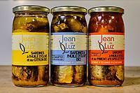 France, Pyrénées-Atlantiques (64), Saint-Jean-de-Luz, conserverie Jean de Luz // France, Pyrénées-Atlantiques (64), Saint-Jean-de-Luz, Jean de Luz cannery