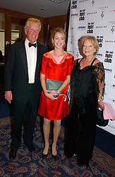 Left to right, MR DAVID ASTOR, his daughter ROSE VAN CUTSEM and MRS DAVID ASTOR at the Boodles Boxing Ball in aid of the sports charity Sparks  organised by Jez lawson, James Amos and Charlie Gilkes held at The Royal Lancaster Hotel, Lancaster Terrae London W2 on 3rd June 2006.<br /> <br /> NON EXCLUSIVE - WORLD RIGHTS