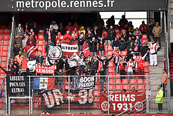 October 28, 2018 - Rennes, France - ILLUSTRATION - SUPPORTERS - DRAPEAUX (Credit Image: © Panoramic via ZUMA Press)