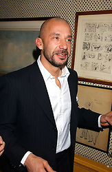 GIANLUCA VIALLI at a dinner hosted by Stratis & Maria Hatzistefanis at Annabel's, Berkeley Square, London on 24th March 2006 following the christening of their son earlier in the day.<br /><br />NON EXCLUSIVE - WORLD RIGHTS