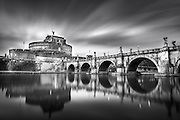 This image of the san angelo castle was made during a photography trip in rome, Italy.