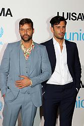 Ricky Martin attending the UNICEF Gala in Porto Cervo with husband Jwan Yosef. 10 Aug 2018 Pictured: Ricky Martin, Jwan Yousef. Photo credit: Antonello Tavera / MEGA TheMegaAgency.com +1 888 505 6342