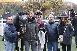 November 17, 2017 - Saint Cloud, France, France - Course 6 - Namasjar - Tony Piccone - Elie Lellouche (Credit Image: © Panoramic via ZUMA Press)