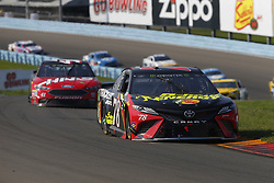 August 5, 2018 - Watkins Glen, New York, United States of America - Martin Truex, Jr (78) brings his car through the turns during the Go Bowling at The Glen at Watkins Glen International in Watkins Glen , New York. (Credit Image: © Chris Owens Asp Inc/ASP via ZUMA Wire)