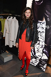 EVANGELINE LING at the opening of the Tiger of Sweden Store, 210 Piccadilly, London on 3rd October 2013.